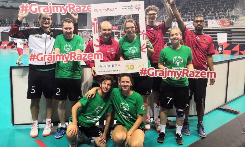 Unified Volleyballer Polen Die Zieglerschen